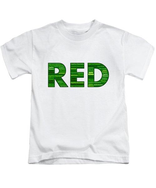 Cognitive Dissonance Kids T-Shirt