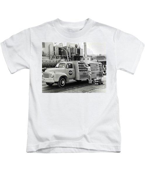 Coke Delivery Truck Kids T-Shirt