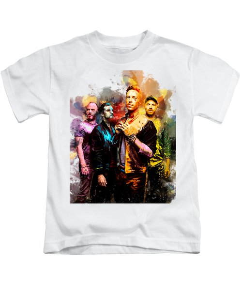 Coldplay Kids T-Shirt by Rinaldo Ananta