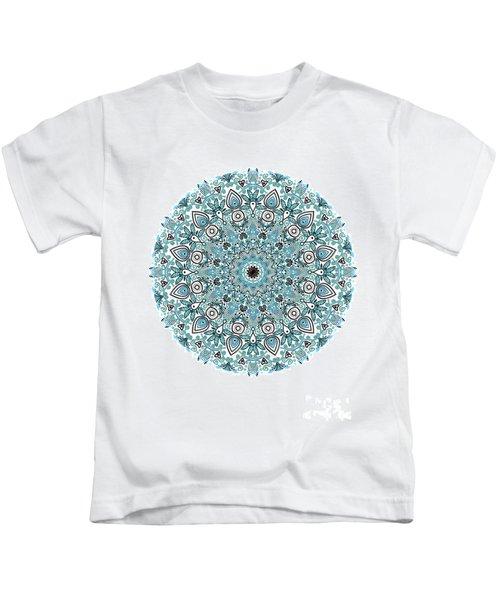 colorDrawMandalalesson Kids T-Shirt