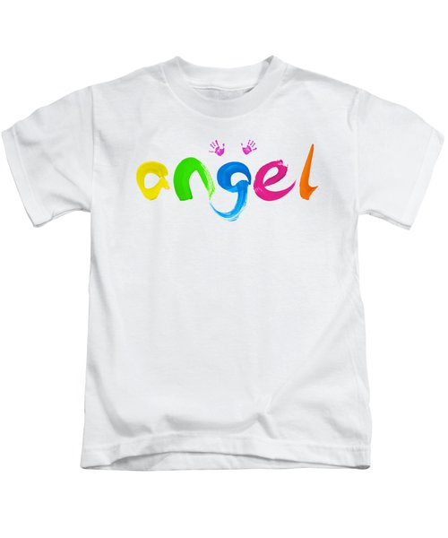 Colorful Angel Kids T-Shirt
