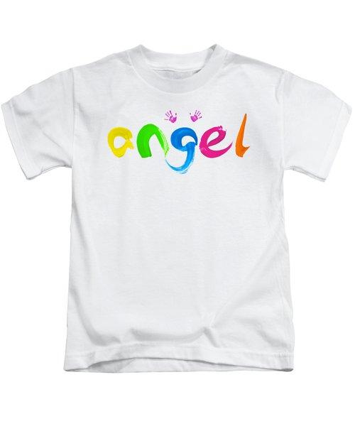 Colorful Angel Kids T-Shirt