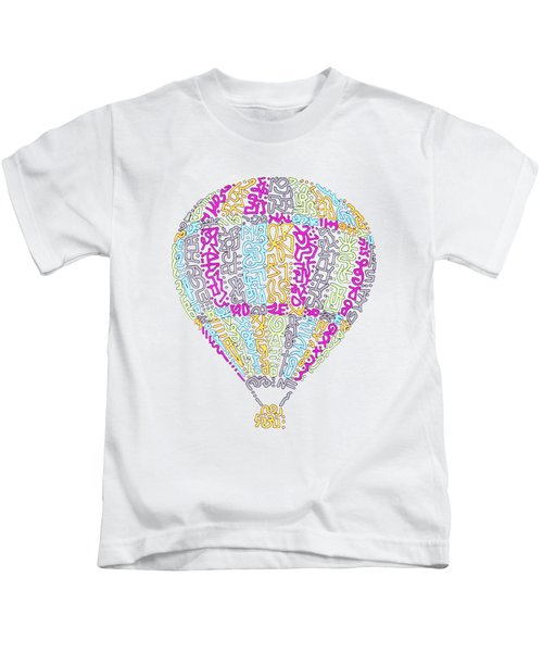 Colorful Baloon Kids T-Shirt