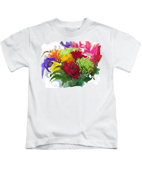 Colorful Bouquet Kids T-Shirt