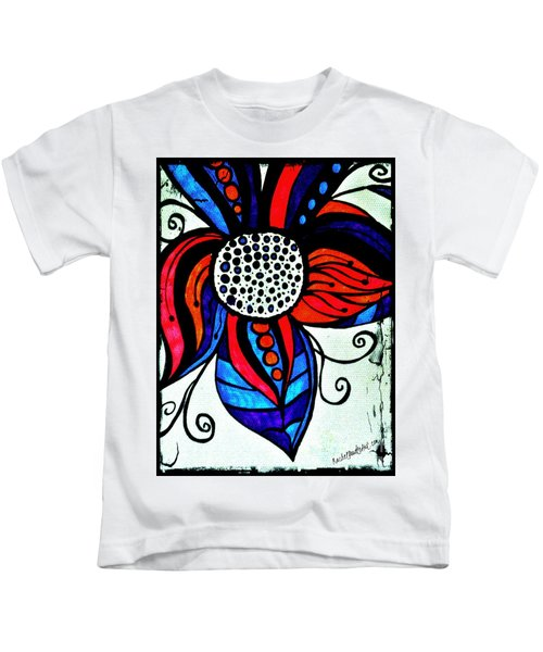 Colorful Flower Kids T-Shirt
