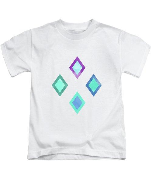 Colorful Geometric Patterns II Kids T-Shirt