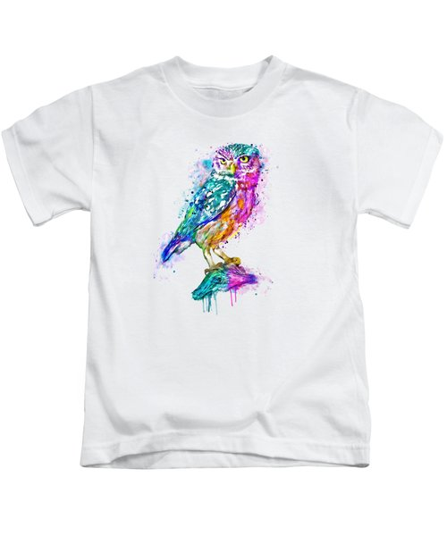 Colorful Owl Kids T-Shirt