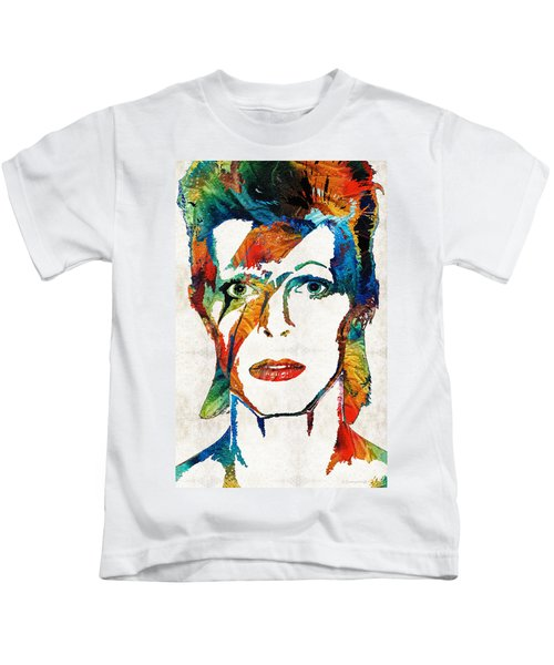 Colorful Star - David Bowie Tribute  Kids T-Shirt