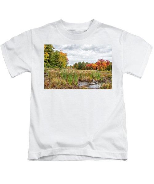Colorful Webster Bog Kids T-Shirt