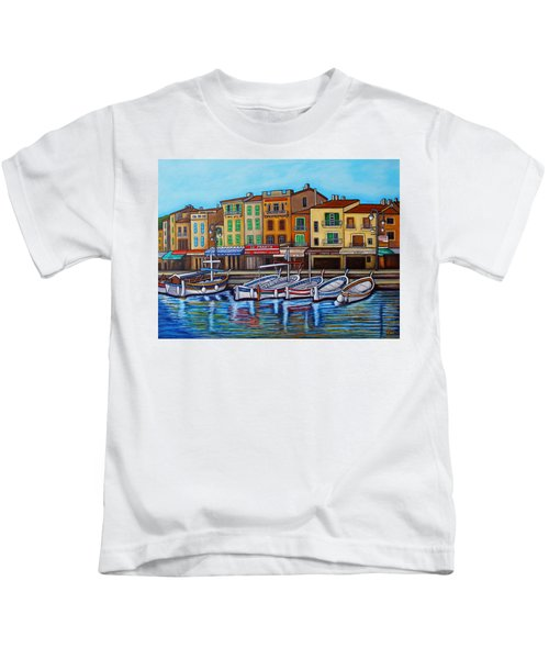 Colours Of Cassis Kids T-Shirt