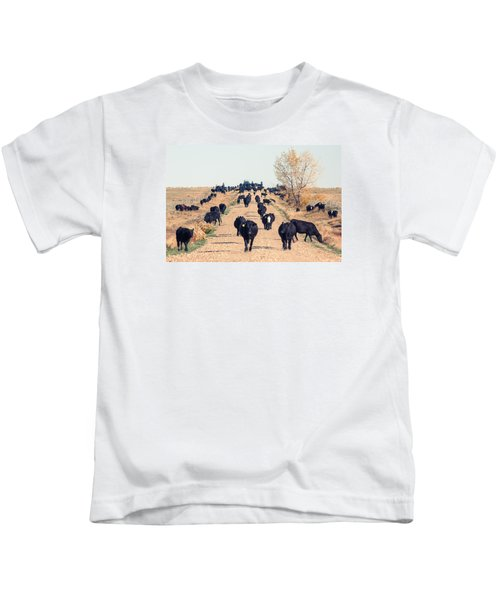 Coming Down The Road Kids T-Shirt