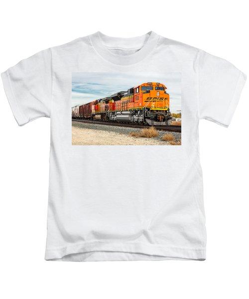 Coming Through Livingston Kids T-Shirt