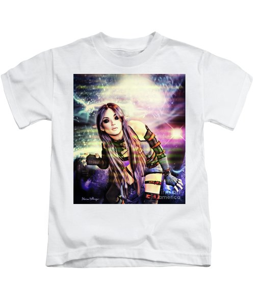 Coming Through In Waves Kids T-Shirt