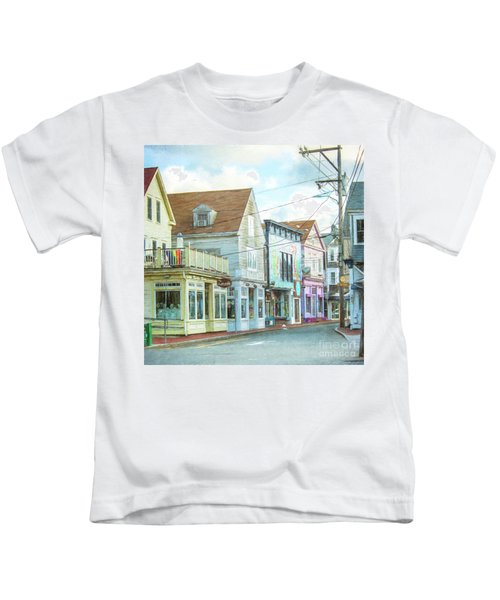 Commercial St #1 Kids T-Shirt