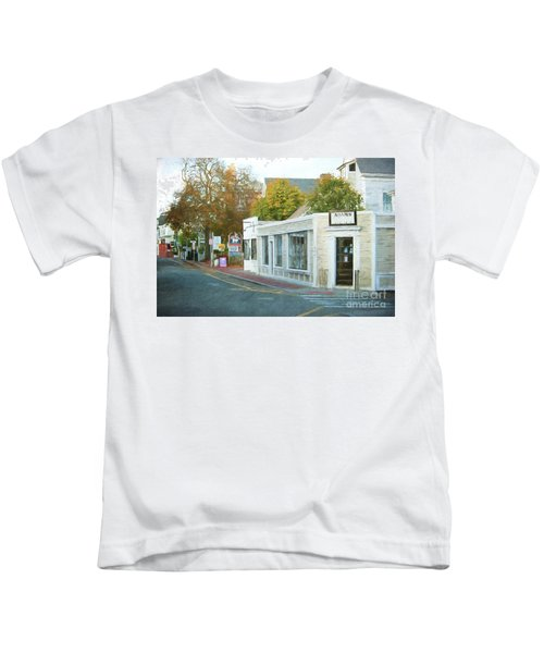 Commercial St. #2 Kids T-Shirt