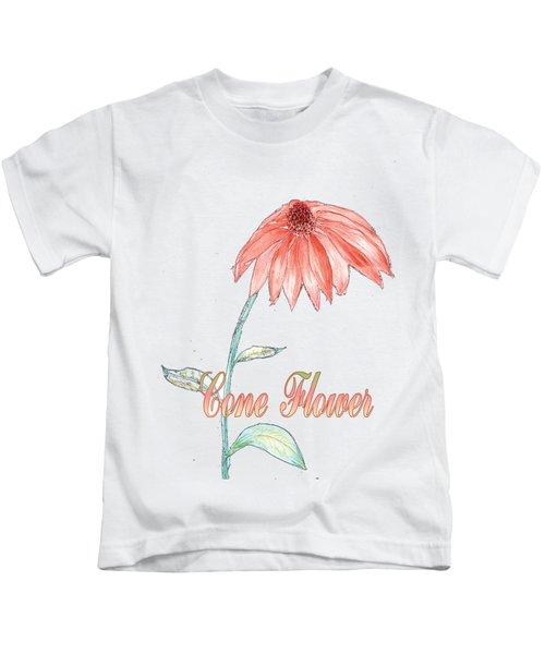 Cone Flower Kids T-Shirt