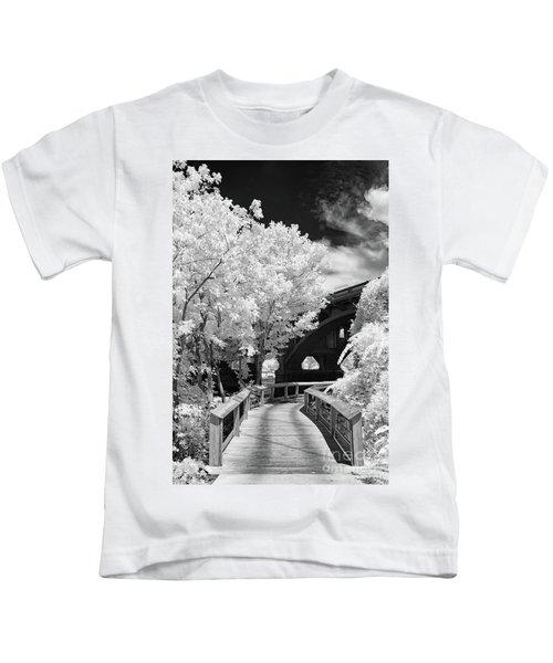 Congaree River Boardwalk Kids T-Shirt
