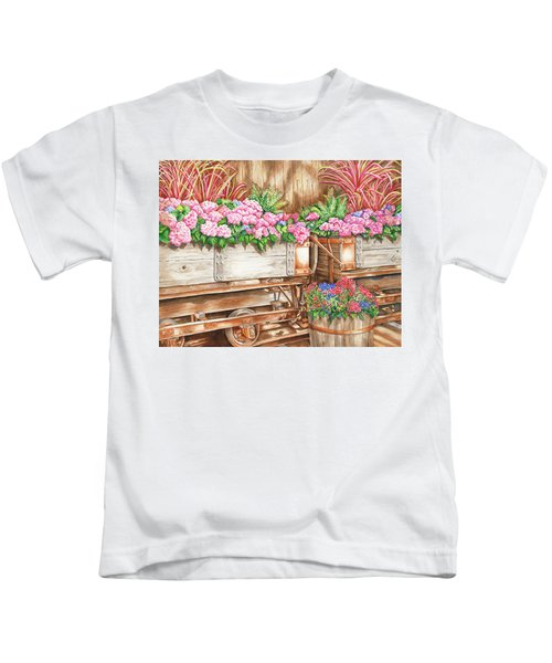 Cordelia's Train Kids T-Shirt