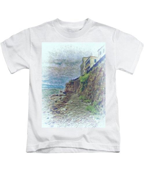 Corfu 33 - Corfu Rocks Kids T-Shirt
