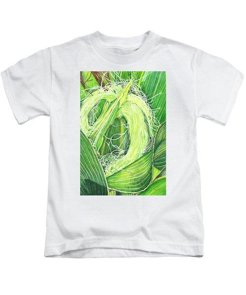Corn Silk Kids T-Shirt