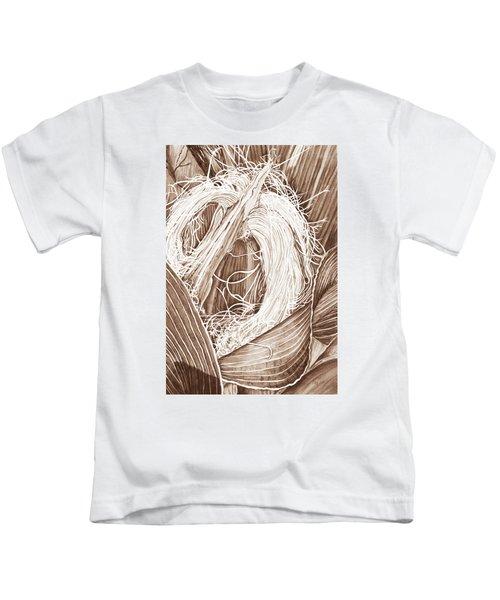 Corn Silk - Neutral Kids T-Shirt