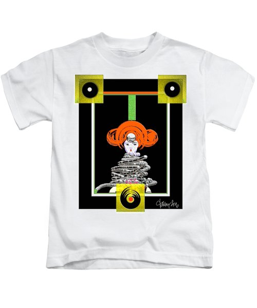 Cosmic Geisha - Close Encounter Kids T-Shirt