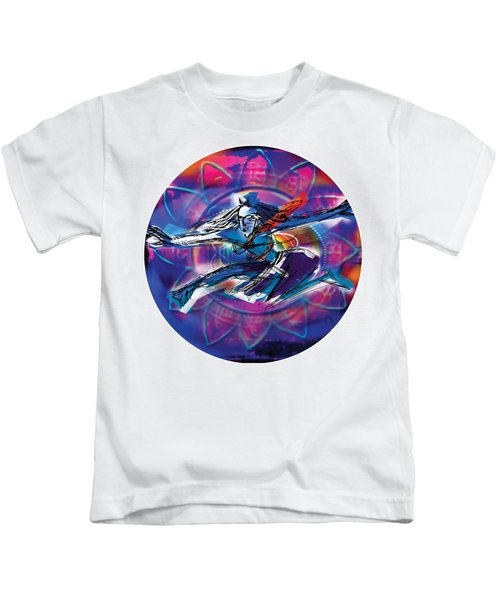 Cosmic Shiva Speed Kids T-Shirt