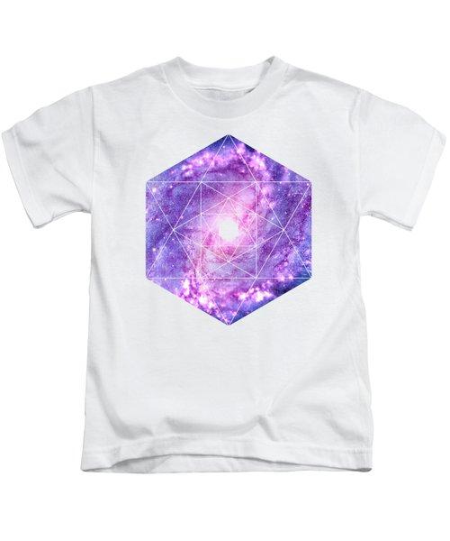 Cosmic Vacuum Cleaner Spiral Galaxy M83 Kids T-Shirt