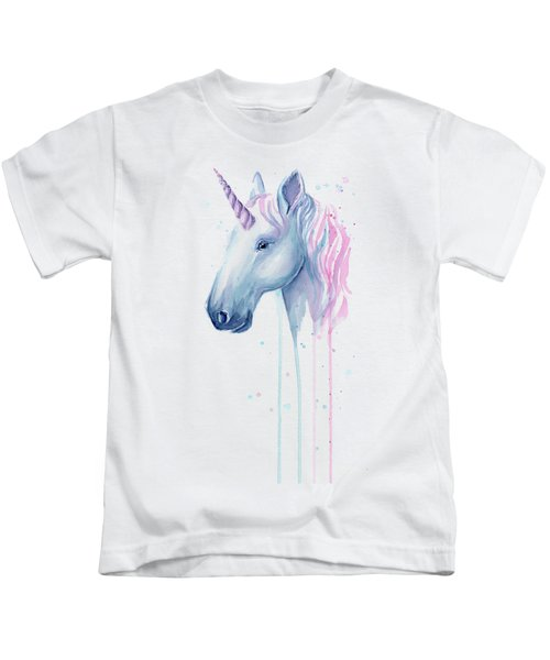 Cotton Candy Unicorn Kids T-Shirt