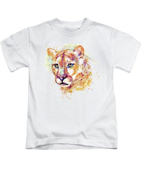 Cougar Head Kids T-Shirt