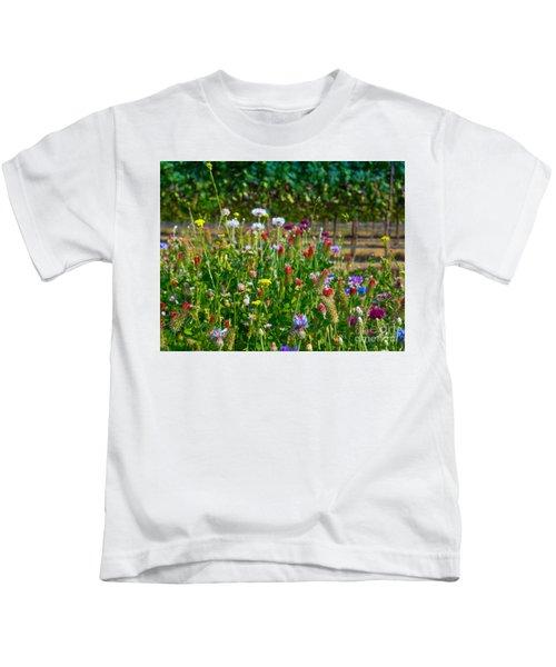 Country Wildflowers II Kids T-Shirt