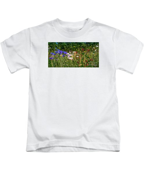 Country Wildflowers Iv Kids T-Shirt