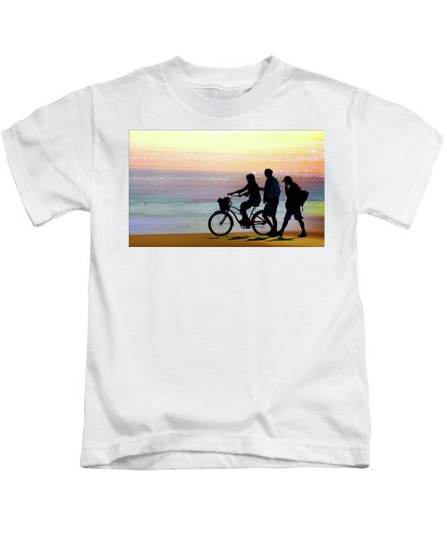 Cox Bay Bike Kids T-Shirt