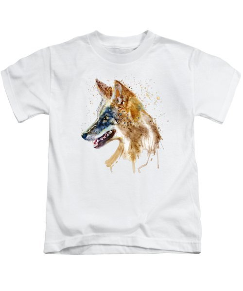 Coyote Head Kids T-Shirt