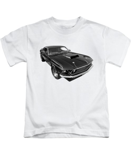 Coz I Can Black And White Kids T-Shirt