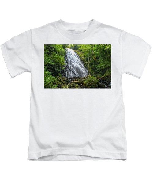 Crabtree Falls Kids T-Shirt