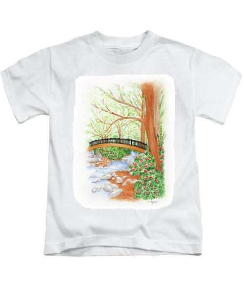 Creek Crossing Kids T-Shirt