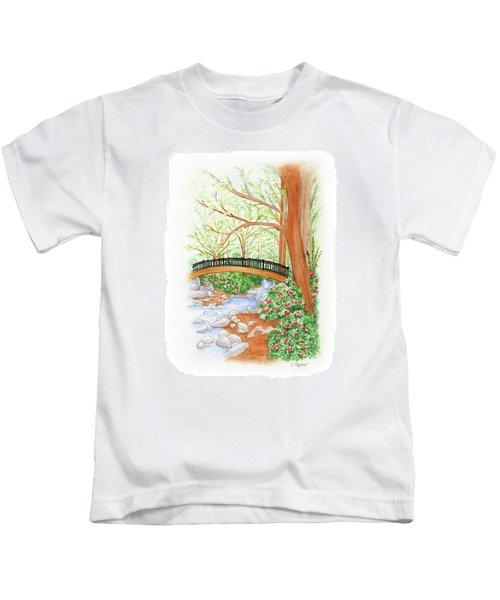 Creek Crossing Kids T-Shirt