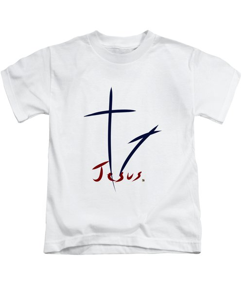 Cross And Shadow Kids T-Shirt
