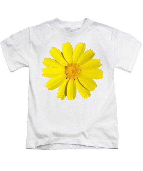 Crown Daisy Kids T-Shirt