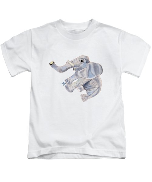 Cuddly Elephant IIi Kids T-Shirt