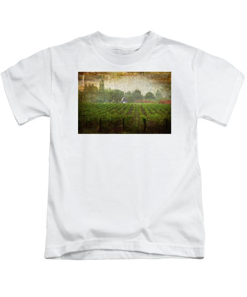 Cultivating A Chardonnay Kids T-Shirt
