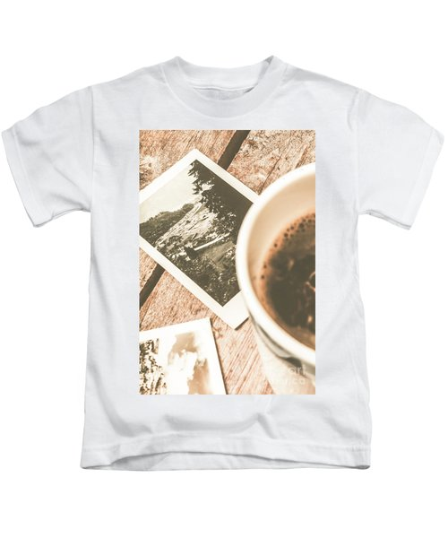 Cup Of Nostalgia Kids T-Shirt