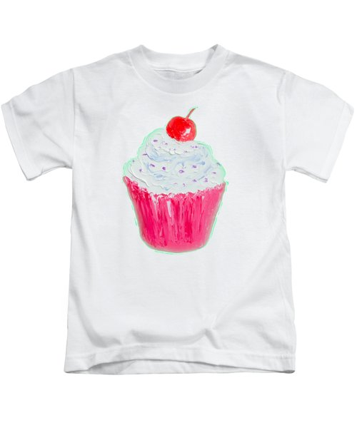Cupcake Painting Kids T-Shirt