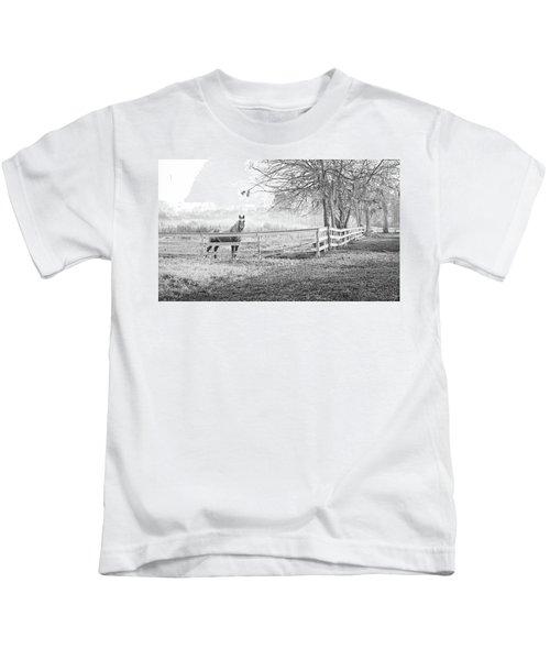 Curious Fog Kids T-Shirt