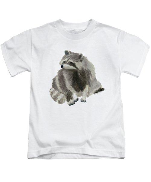 Cute Raccoon Kids T-Shirt