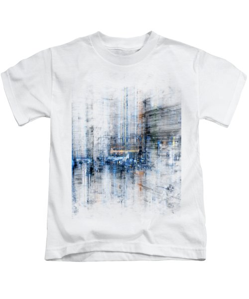 Cyber City Design Kids T-Shirt
