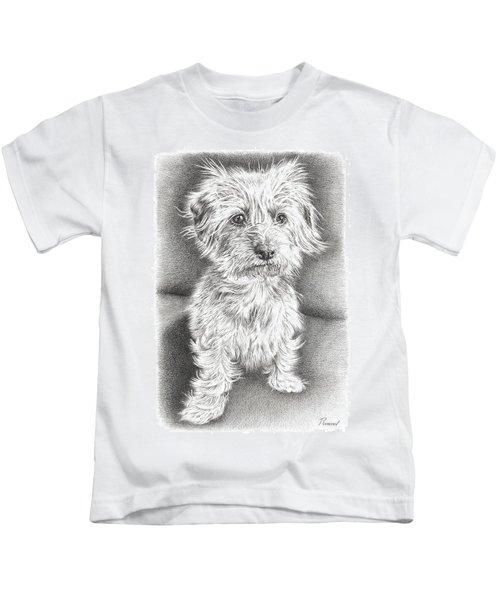 Dachshund Maltese Kids T-Shirt