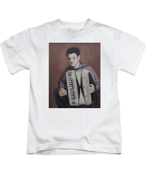 Daddy And His Accordion Kids T-Shirt