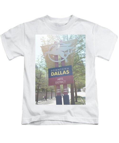 Dallas Arts District Kids T-Shirt